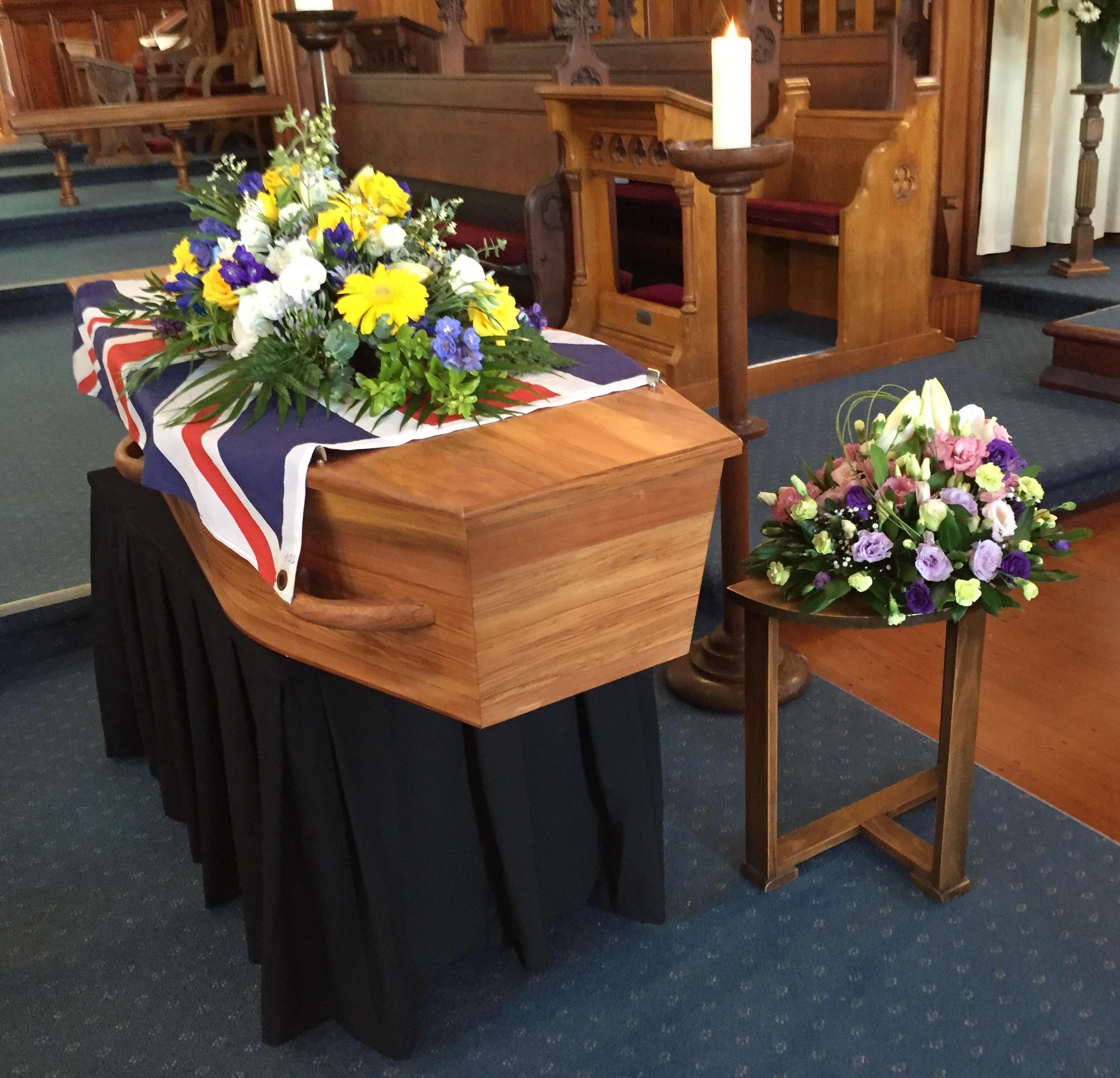 Clare's coffin